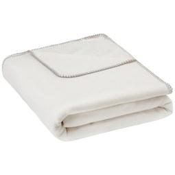 Kuscheldecke Fay in Weiß ca. 150x200cm - Weiß, MODERN, Textil (150/200cm) - Mömax modern living
