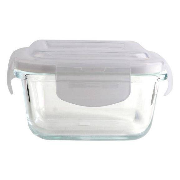 Frischhaltedose Fresh ca. 300ml - Klar/Transparent, Glas/Kunststoff - Mömax modern living
