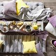 Pătură Alice - gri deschis, Romantik / Landhaus, textil (150/180cm) - Zandiara