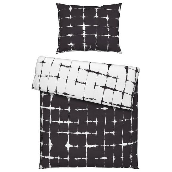Posteljnina Batik Wende - petrolej/črna, tekstil (140/200cm) - Mömax modern living