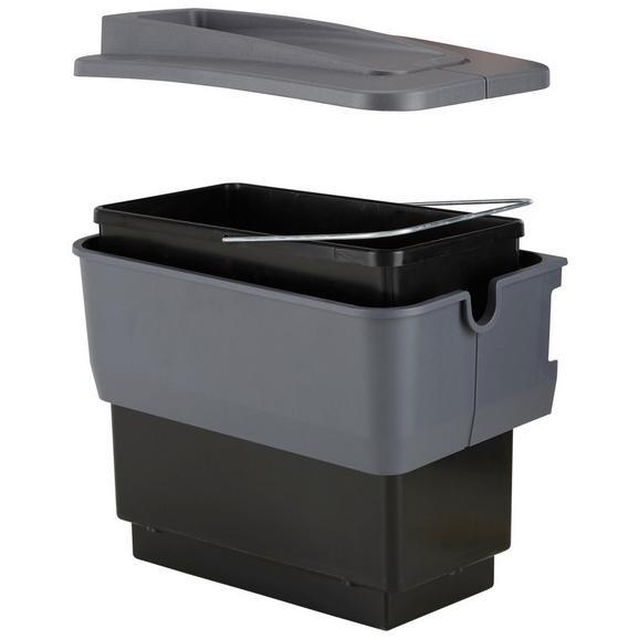 Einbauabfallsammler 512880 - Grau, Kunststoff (22/36,5/36cm) - Blanco