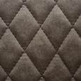Stuhl Vittoria - Dunkelbraun/Braun, MODERN, Textil/Metall (44/82/53cm) - Mömax modern living