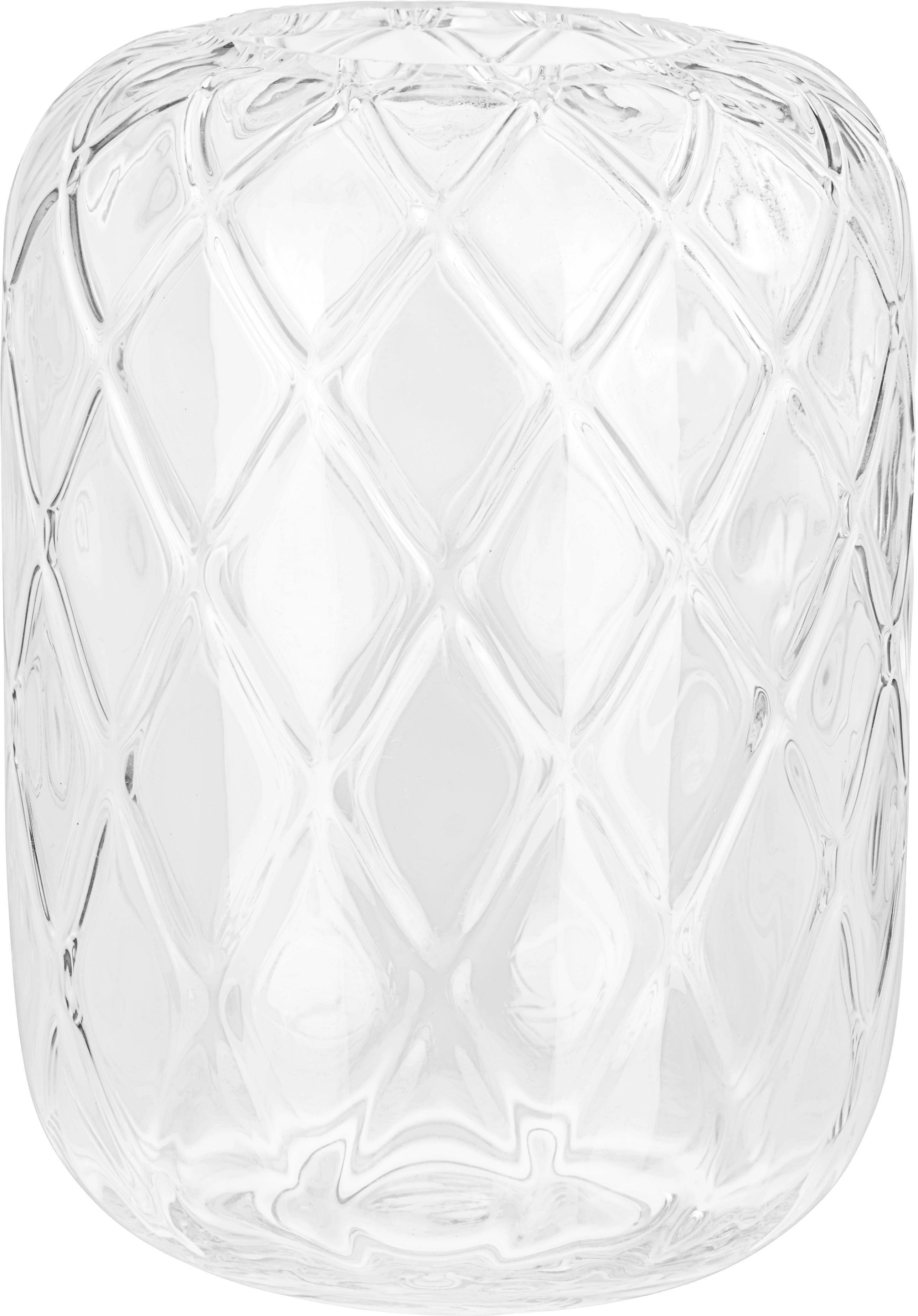 Vase Anett aus Glas - Klar, ROMANTIK / LANDHAUS, Glas (17/24cm) - MÖMAX modern living