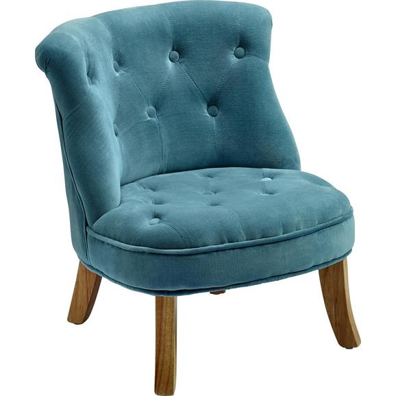 Dječja Fotelja Kiddy - plava, Romantik / Landhaus, tekstil (49/48/53,5cm) - Premium Living