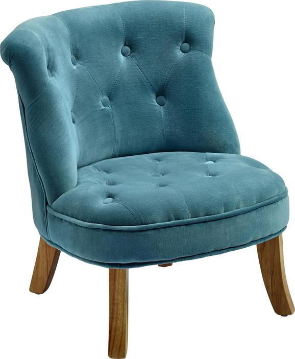 Kindersessel in Blau - Blau, ROMANTIK / LANDHAUS, Textil (49/48/53,5cm) - Premium Living