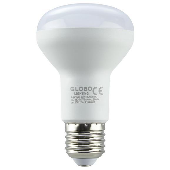 LED-Leuchtmittel 10622 max. 7 Watt - Weiß, Kunststoff (6,3/10,5cm)