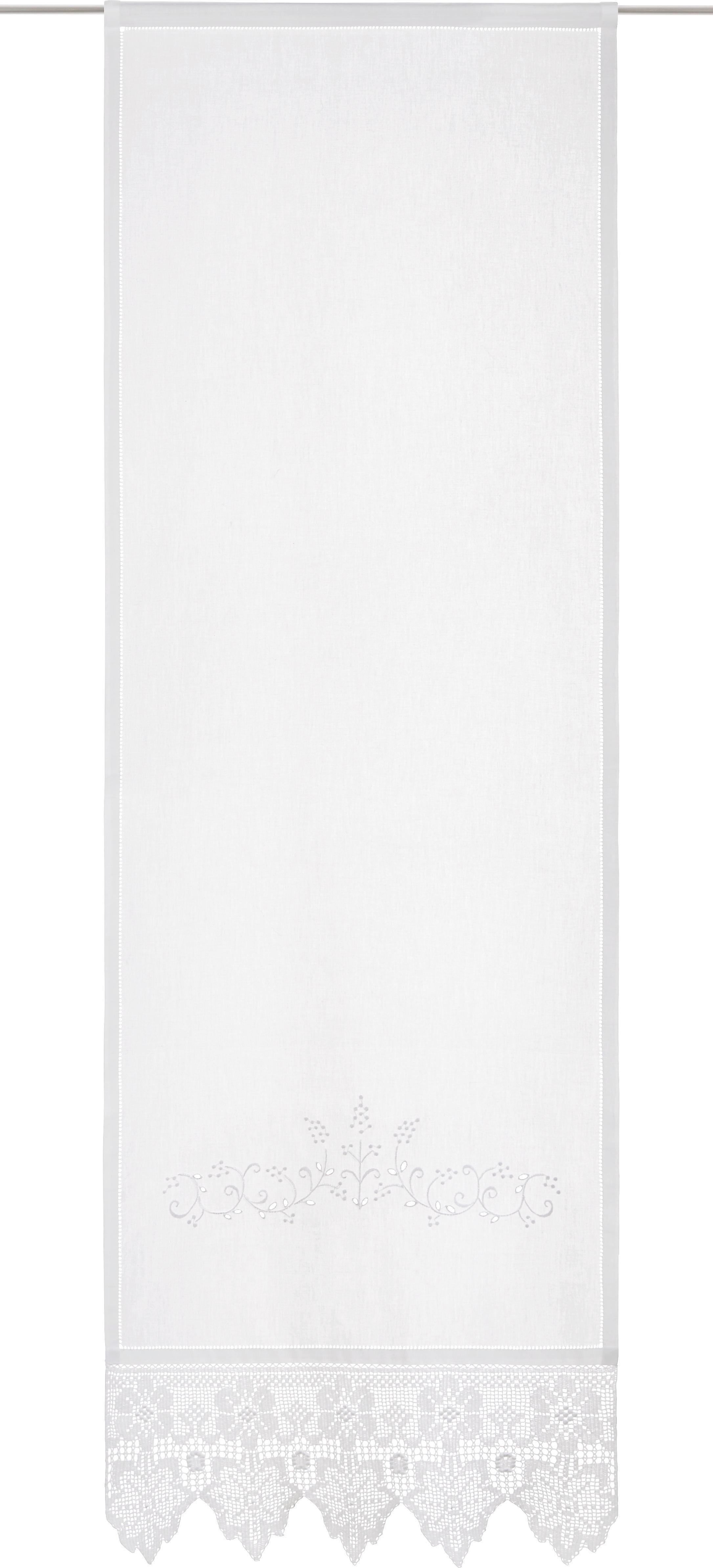 Fertiggardine Margret 60x180cm - Weiß, MODERN, Textil (60/180cm) - MÖMAX modern living