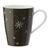 Kaffeebecher Vivo 30 ml - Weiß/Grau, KONVENTIONELL, Keramik - Vivo