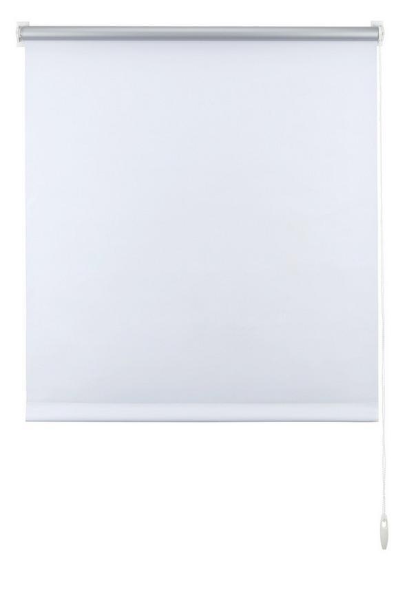 Klemmrollo Thermo in Weiß, ca. 75x150cm - Weiß, Textil (75/150cm) - Premium Living
