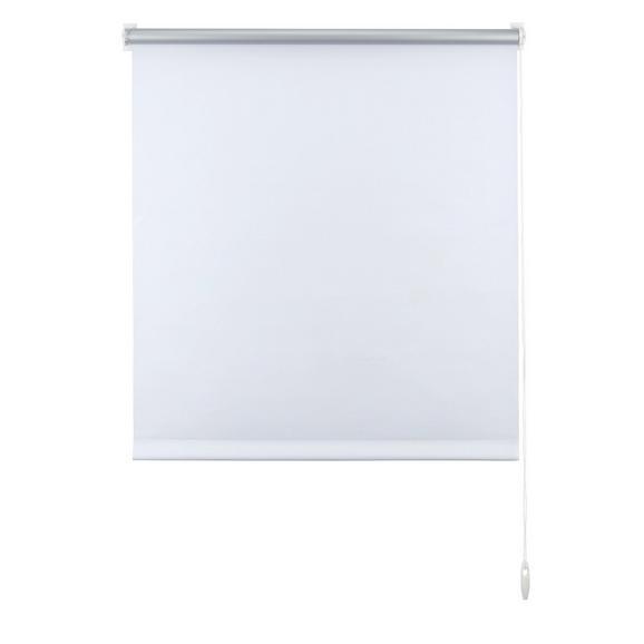 Klemmrollo Thermo Weiß ca. 75x150cm - Weiß, Textil (75/150cm) - Premium Living