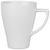 Kaffeebecher Nele aus Steinzeug in Weiß - Weiß, MODERN, Keramik (8,5/11cm) - Premium Living
