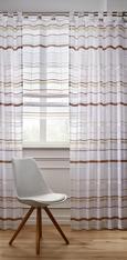 Bändchenrollo Adele in Braun, ca. 100x140cm - Braun, KONVENTIONELL, Textil (100/140cm) - MÖMAX modern living