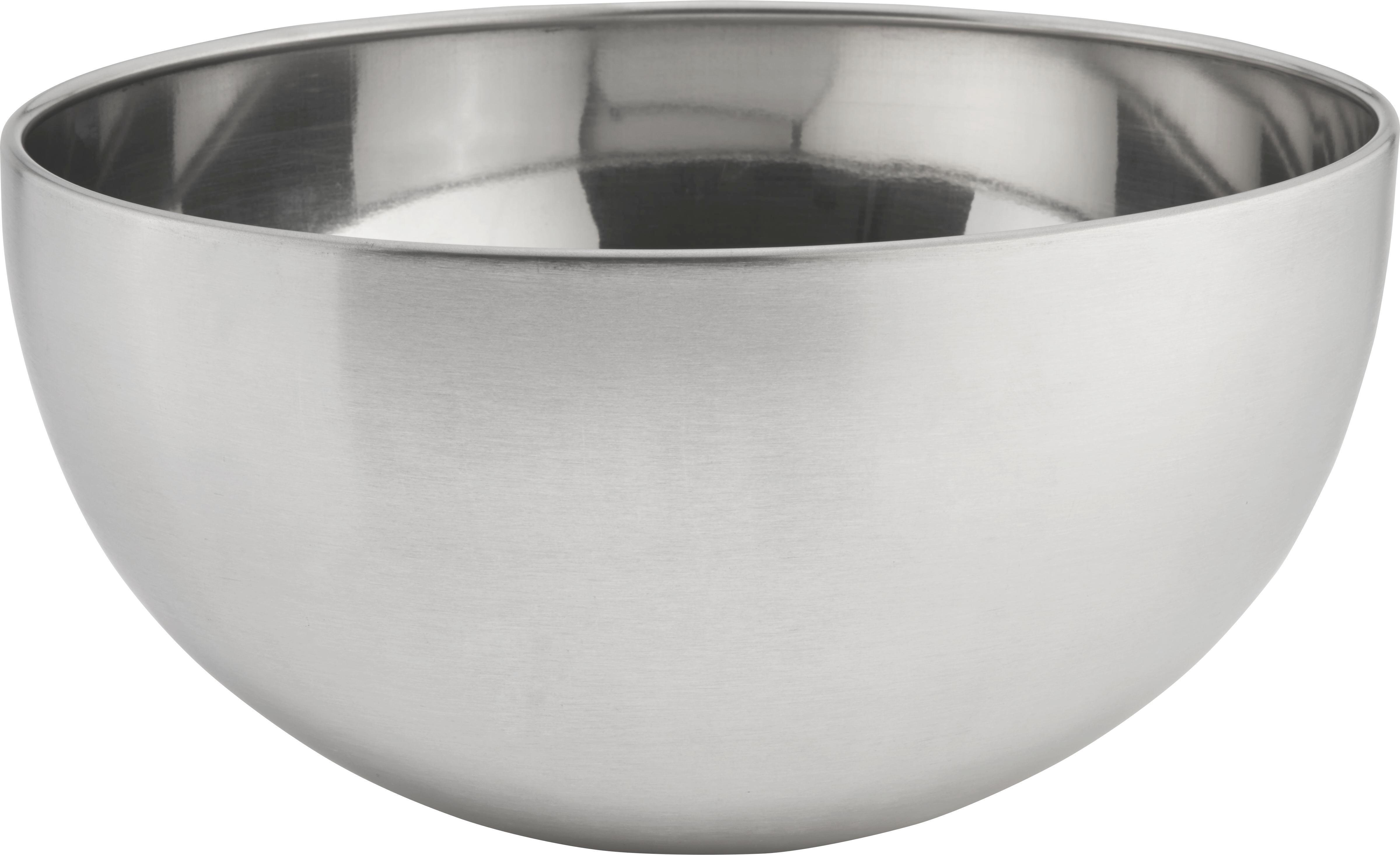 Tál Vinzenz - nemesacél színű, modern, fém (19,5/9,5cm) - MÖMAX modern living