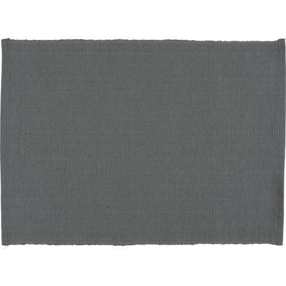 Tischset Maren Anthrazit - Anthrazit, Textil (33/45cm) - Based