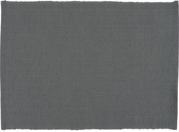 Tischset Maren in Anthrazit - Anthrazit, Textil (33/45cm) - Based