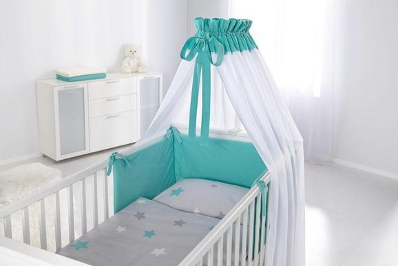 Nestchen in Grau/türkis - Türkis, Textil - Mömax modern living