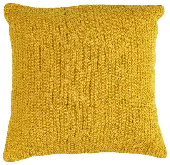 Zierkissen Gitta Gelb 43x43cm - Gelb, MODERN, Textil (43/43cm) - Mömax modern living