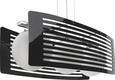 Hängeleuchte Lexi - MODERN, Glas/Metall (55/25/20cm) - Premium Living