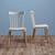 Stuhl Celine - Buchefarben/Weiß, MODERN, Holz (43,5/82/51,5cm) - Modern Living
