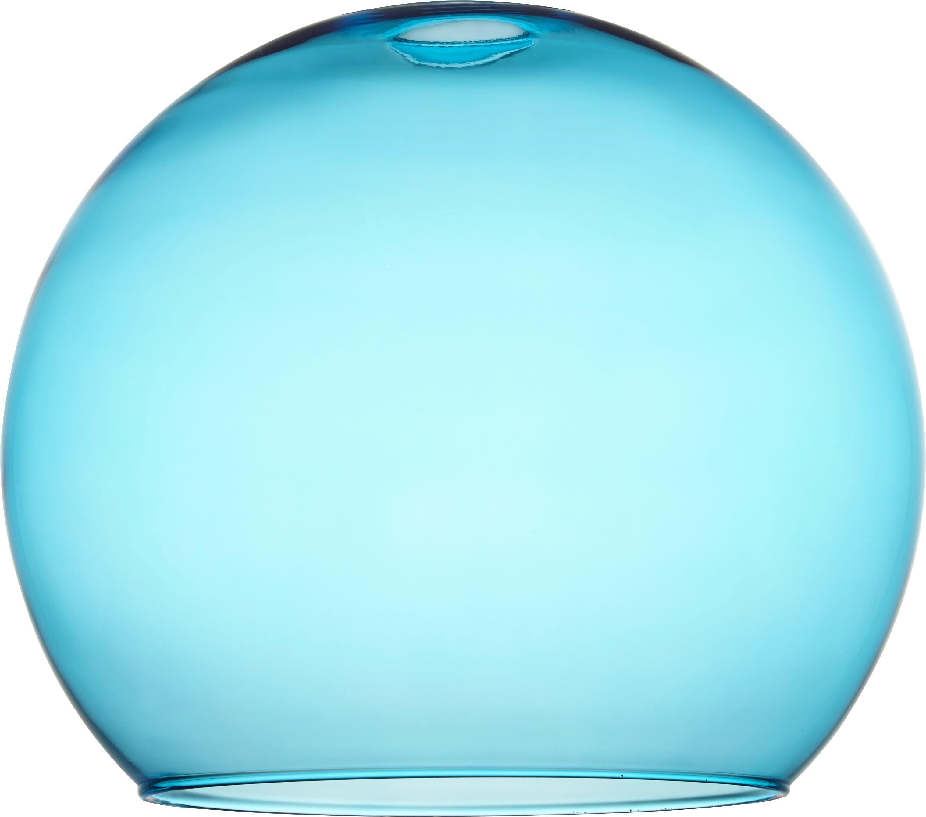 Leuchtenschirm Bo 60 Watt - Blau, Glas (30/26cm) - MÖMAX modern living