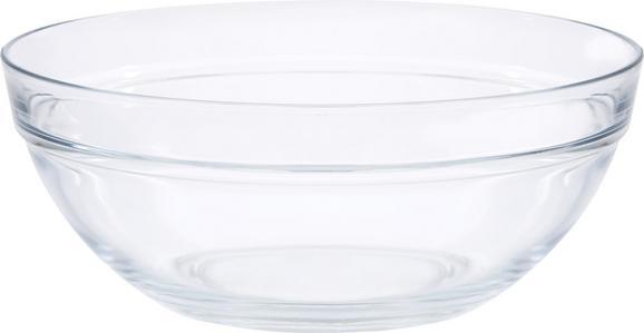 Skleda Petra - prozorna, steklo (23/9cm) - Mömax modern living