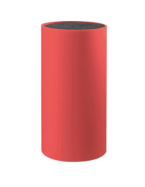 Blok Za Nože Thorsten - rdeča, Konvencionalno, umetna masa (11/22cm) - MÖMAX modern living