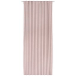 Fertigvorhang Leo Rosa ca. 135x255cm - Rosa, Textil (135/255cm) - Premium Living