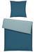Bettwäsche Belinda Blau, 155x220 cm - Blau/Hellblau, Textil (155/220cm) - Premium Living