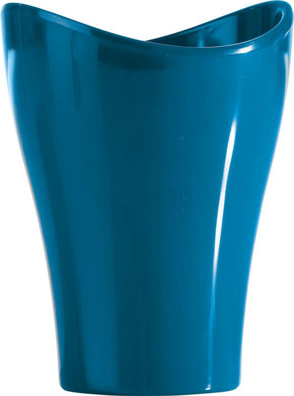 Lonček Za Umivanje Zob Bella -top- - petrolej, Konvencionalno, umetna masa (9,12/11,91cm) - Mömax modern living