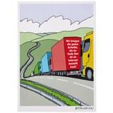 Postkarte Onlineshopping - Multicolor, Papier (10,5/14,8cm)