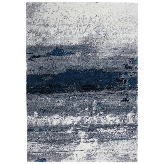 Webteppich Topas ca. 133x190cm - Blau/Hellgrau, MODERN (133/190cm) - Modern Living