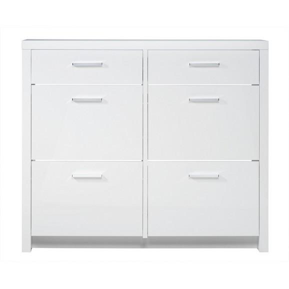 schuhschrank in wei hochglanz online kaufen m max. Black Bedroom Furniture Sets. Home Design Ideas