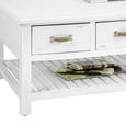 Couchtisch Lewis Vintage 120x60cm - Weiß, MODERN, Holz (120/60/40cm) - MÖMAX modern living