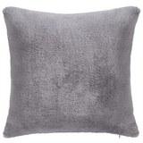 Fellkissen Elina 40x40 cm - Grau, MODERN, Textil (40/40cm) - Mömax modern living