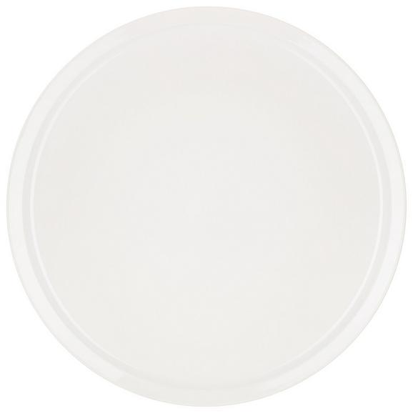 Pizzateller Adria in Weiß - Weiß, Keramik (30cm) - Mömax modern living
