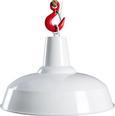 Hängeleuchte Lennya - Weiß, MODERN, Kunststoff/Metall (35/120cm) - Mömax modern living