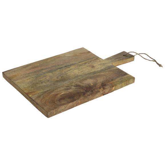 Schneidebrett Manu aus Mangoholz - Naturfarben, Holz (30/45/2cm)