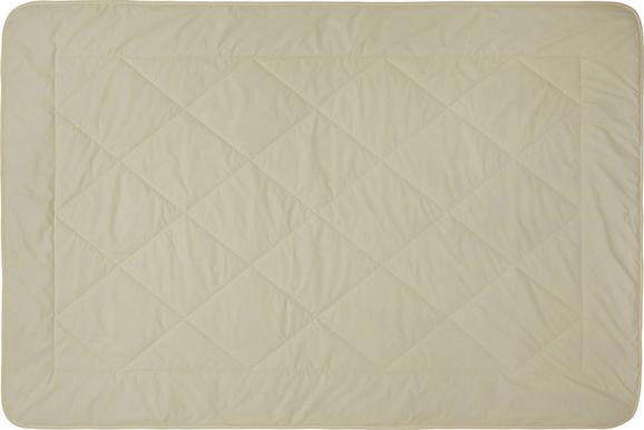 Steppbett Schaffwoll, ca. 135x200cm - Beige, Textil (135/200cm) - NADANA
