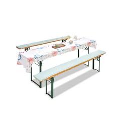 Bierbankauflage Pastel in Bunt - Rosa/Weiß, LIFESTYLE, Textil (25x220cm) - Mömax modern living