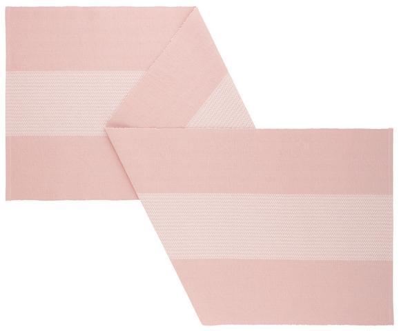 Tischläufer Lisa Rosa - Rosa, MODERN, Textil (45/150cm) - MÖMAX modern living