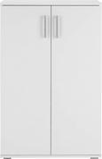 Schuhschrank in Weiß - Weiß, MODERN, Holzwerkstoff/Kunststoff (70/106/34cm) - MÖMAX modern living