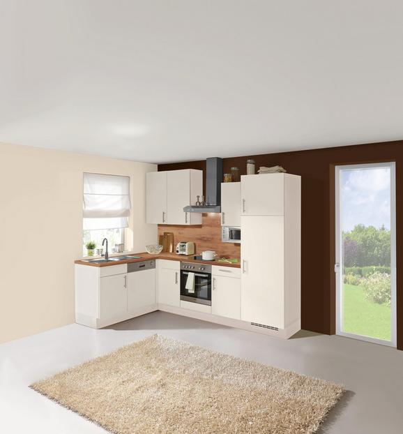 Kuhinjski Blok Santiago - bela/hrast, Trendi, leseni material (175/275cm)