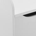 Spielzeugbox Lara inkl. Stauraum - Weiß, MODERN, Holz (60/30/47cm) - Mömax modern living