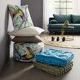 Pouf Medellin - multicolor, textil (50/20cm) - Modern Living