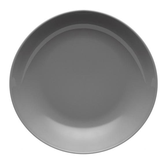 Globoki Krožnik Sandy - siva, Konvencionalno, keramika (20/3,5cm) - Mömax modern living