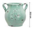 Dekokrug Nephele ca. 28,5/25,5 cm - Grün, MODERN, Keramik (28,5/24,5/25,5cm) - Mömax modern living