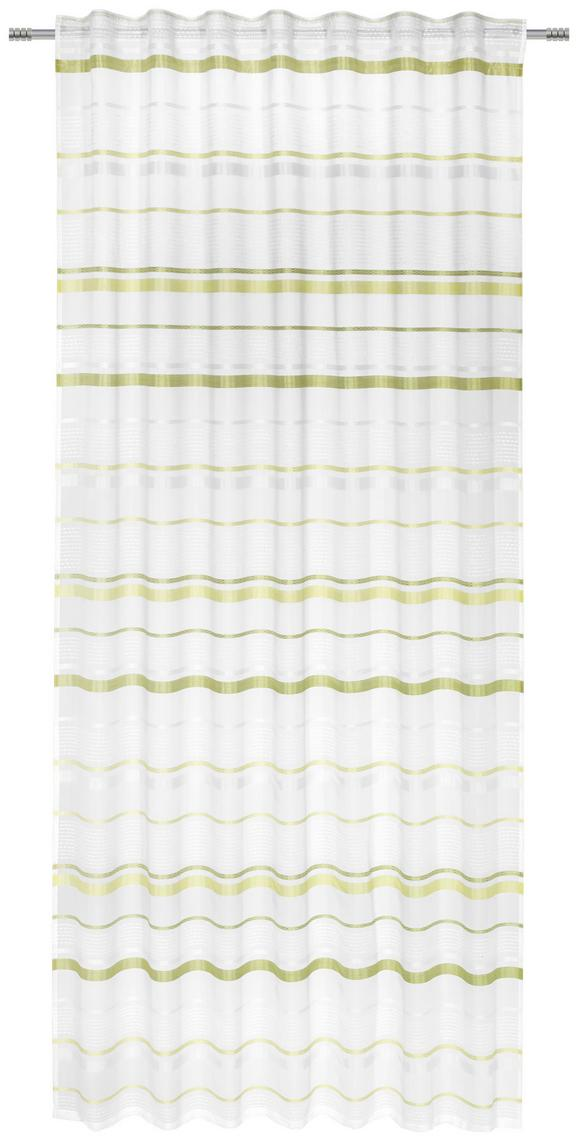 Schlaufenvorhang Adele, ca. 140x245cm - Grün, KONVENTIONELL, Textil (140/245cm) - Mömax modern living