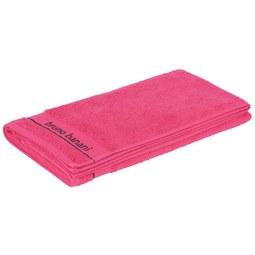 Strandtuch Bruno Banani 70x180cm - Pink, LIFESTYLE, Textil (70/180cm) - BRUNO BANANI