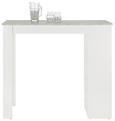 Bar Grau/Weiß - Weiß/Grau, MODERN, Holzwerkstoff (115/103/50cm)