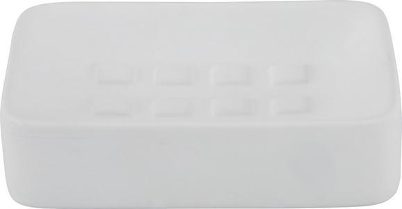 Seifenschale Melanie Weiß - Weiß, Keramik (8,3/12,5cm) - Mömax modern living